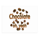 Chocolate oh, sí postales