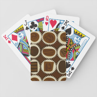 Chocolate on Deck Bicycle Playing Cards