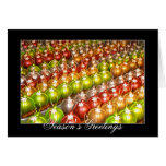 Chocolate Ornament Holiday Greeting Card
