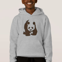 Chocolate Panda hoody