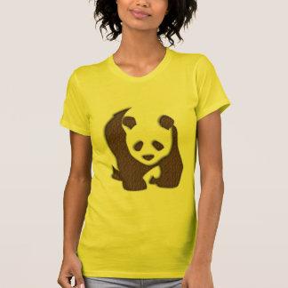 Chocolate Panda ladies t-shirt