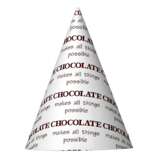 Chocolate Party Hat