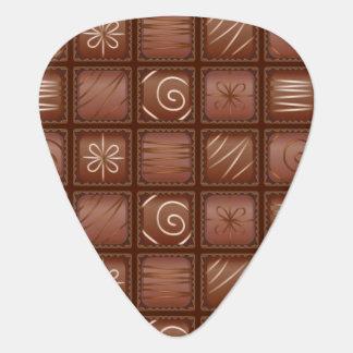 Chocolate Pattern Guitar Pick