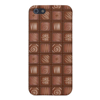 Chocolate Pattern iPhone 5/5S Cases