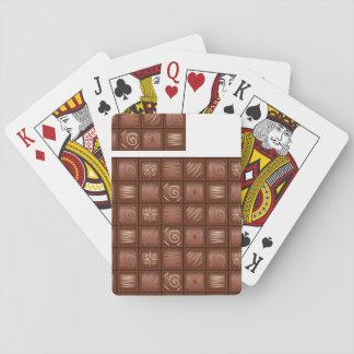 Chocolate Pattern Card Deck