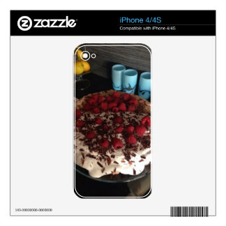 Chocolate Pavlova Decals For The iPhone 4