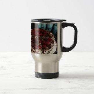 Chocolate pavlova travel mug