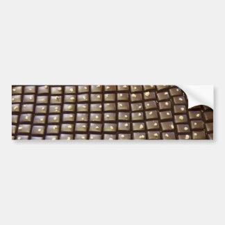 ¿Chocolate? Pegatina Para Auto