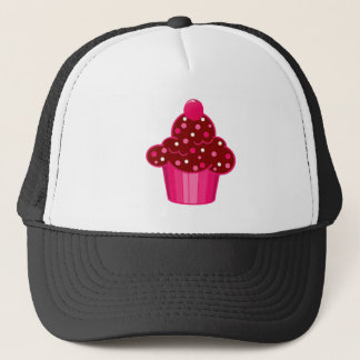 Chocolate Peppermint Cupcake Trucker Hat