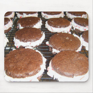 Chocolate Peppermint Whoopie Pie Pies Mousepad