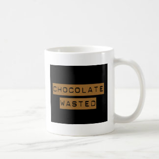 Chocolate perdido taza básica blanca