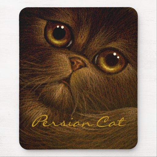 CHOCOLATE PERSIAN CAT Mousepad