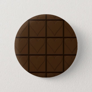 Chocolate Pinback Button
