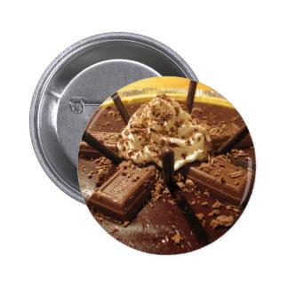 Chocolate Pocky Pie Button