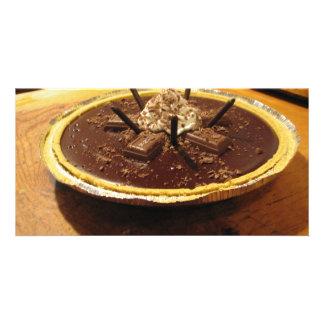 Chocolate Pocky Pie Card