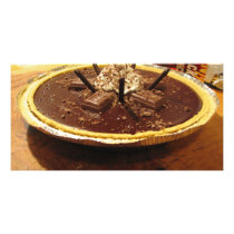 Chocolate Pocky Pie Card