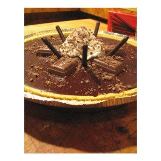 Chocolate Pocky Pie Flyer