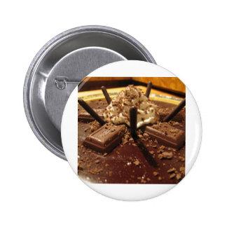 Chocolate Pocky Pie Pinback Button