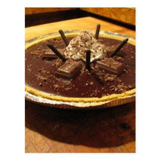 Chocolate Pocky Pie Postcard