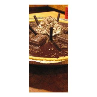 Chocolate Pocky Pie Rack Card