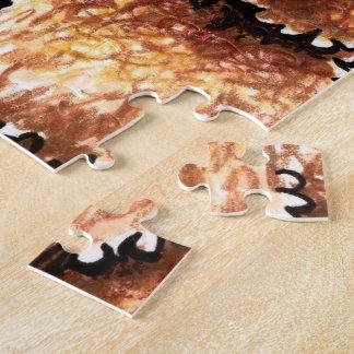 Chocolate poner crema Labradoodles Rompecabeza Con Fotos