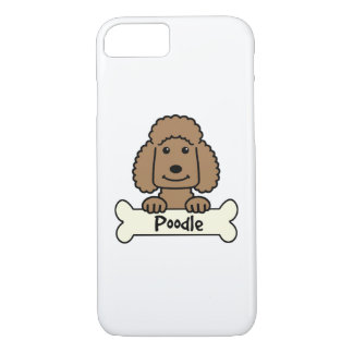 Chocolate Poodle iPhone 7 Case