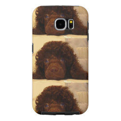 Case-Mate Barely There Samsung Galaxy S6 Case with Poodle Phone Cases design