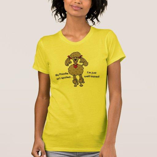 Chocolate Poodle Shirt