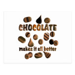Chocolate Post Card