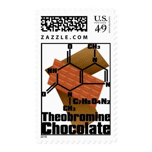 Chocolate Postage Stamp