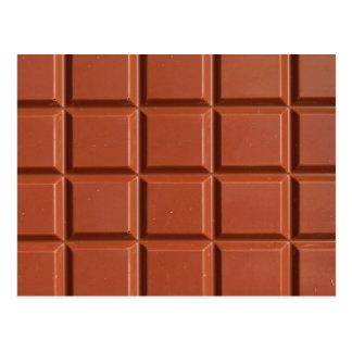 Chocolate - postcard