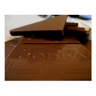 Chocolate Postcard Godiva