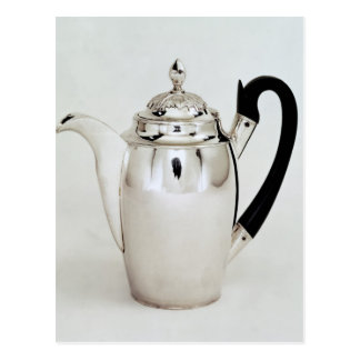Chocolate pot, Leningrad, 1804 Postcard