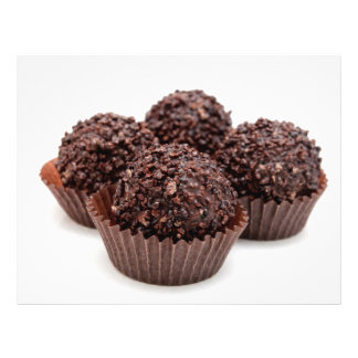 "Chocolate Pralines 8.5"" X 11"" Flyer"