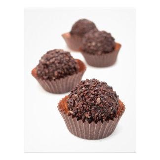 Chocolate Pralines Flyer
