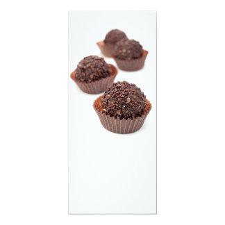 Chocolate Pralines 4x9.25 Paper Invitation Card