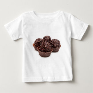Chocolate Pralines Isolated on White Baby T-Shirt