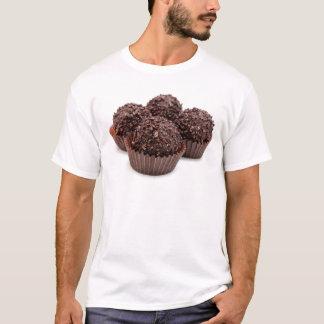 Chocolate Pralines Isolated on White T-Shirt