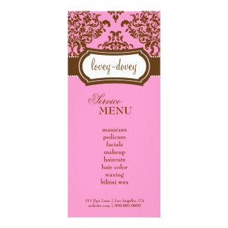 Chocolate precioso del rosa de la tarjeta del esta tarjetas publicitarias