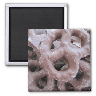 Chocolate Pretzel Magnet