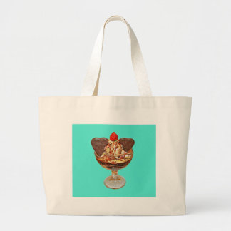 Chocolate Pudding Large Tote Bag