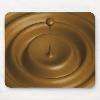 Chocolate Pudding Theme Mouse Pad