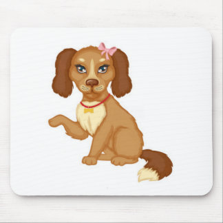 Chocolate Pup Mouse Pad