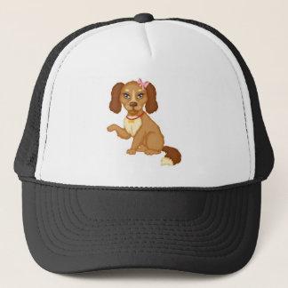Chocolate Pup Trucker Hat