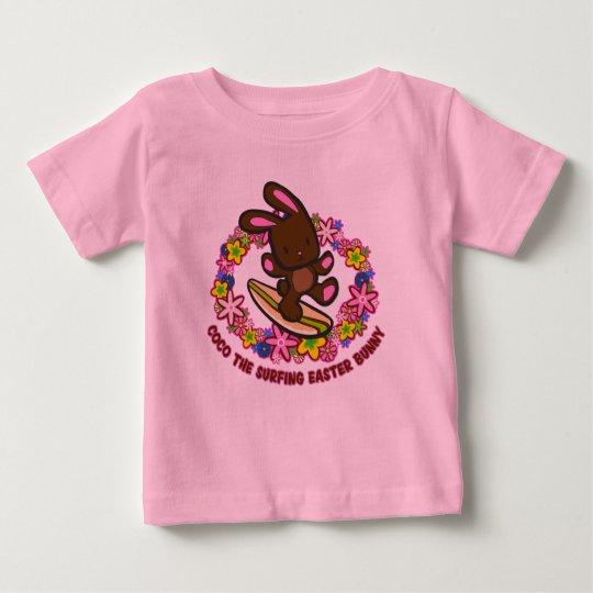 Chocolate que practica surf las camisetas del