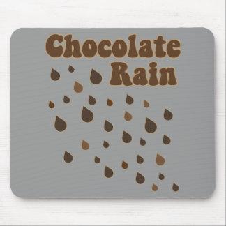 Chocolate Rain Inundation Mouse Pad