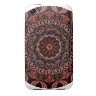 Chocolate, Raspberries, Peppermint Stick Abstract iPhone 3 Case-Mate Cases