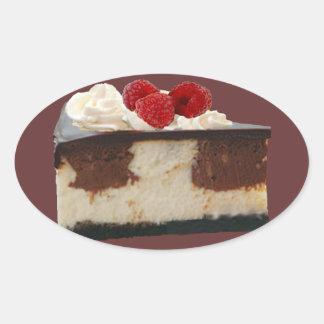 Chocolate Raspberry Cheesecake Sticker