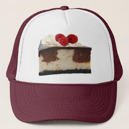 Chocolate Raspberry Cheesecake Trucker Hat