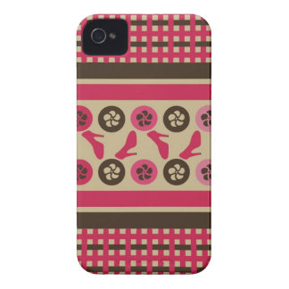 Chocolate Raspberry Flirty iPhone Universal Cases iPhone 4 Case-Mate Cases